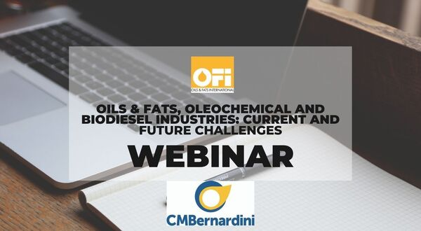 Oils & Fats, Oleochemical and Biodiesel Industries: Current and Future Challenges