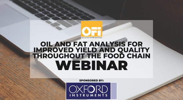 Oil and fat analysis for improved yield and quality throughout the food chain